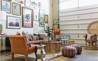 10 ý tưởng đầy cảm hứng cho phòng khách mang phong cách Boho