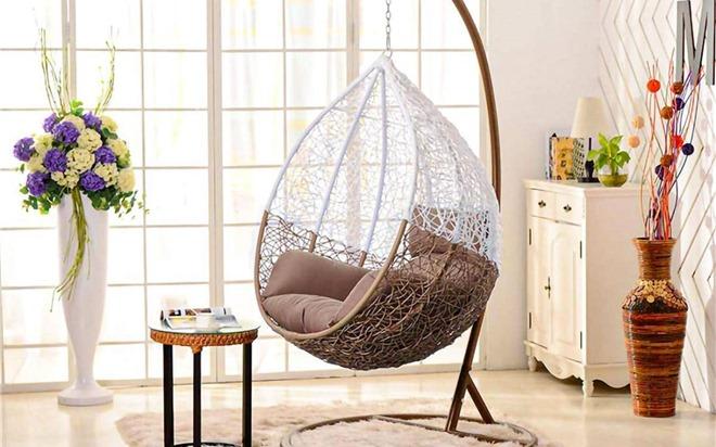 5 mẫu ghế treo độc đáo cho không gian thư giãn tại nhà