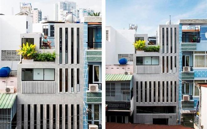 Thiết kế thú vị của ngôi nhà phố 18 m² trong hẻm cụt ở Sài Gòn