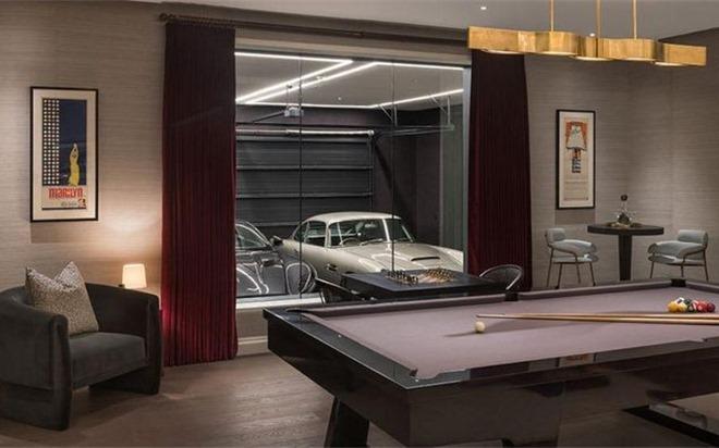Cận cảnh căn hộ '007' trị giá 21 triệu USD lấy cảm hứng từ James Bond