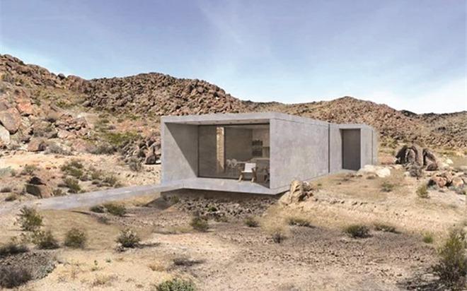 Giá 'khủng' một ngôi nhà trơ trọi trong hoang mạc