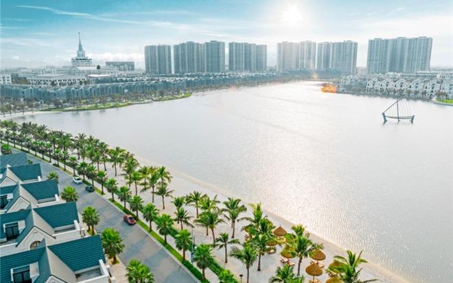 """Bộ tứ sắc xanh độc đáo có """"1 không 2"""" của thành phố biển hồ Vinhomes Ocean Park"""